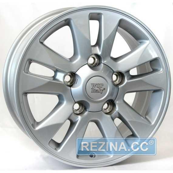 Купить WSP ITALY Jeddah W1758 (SILVER - Серебро) R17 W8 PCD5x150 ET60 DIA110.1