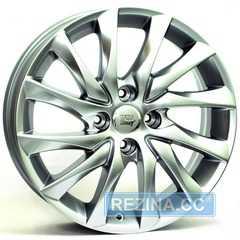 Купить WSP ITALY VERSAILLES W3401 (HYP.SIL. - Гипер серебро) R16 W6.5 PCD4x108 ET26 DIA65.1