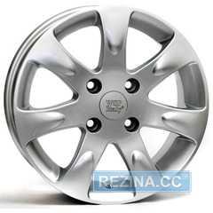 Купить WSP ITALY AIDA W3702 (SILVER - серебро) R15 W6 PCD4x100 ET43 DIA56.1