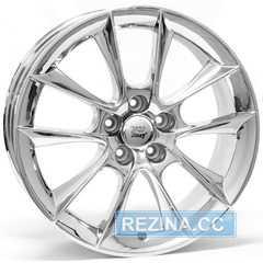Купить WSP ITALY AOSTA AERO W1150 (CHROME - Хром) R18 W7.5 PCD5x110 ET41 DIA65.1