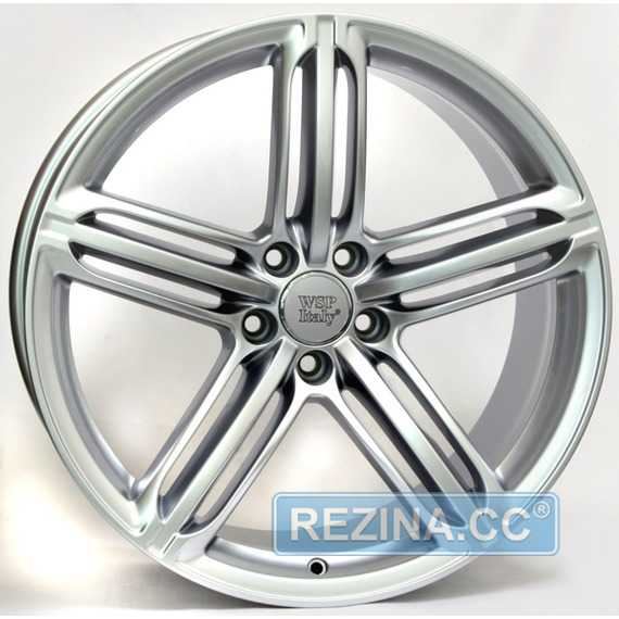 Купить WSP ITALY Pompei W560 (SILVER) R18 W8 PCD5x112 ET35 DIA57.1