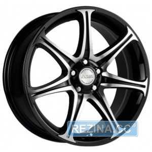 Купить RW (RACING WHEELS) H-134 BK-F/P R13 W5.5 PCD4x100 ET35 DIA67.1