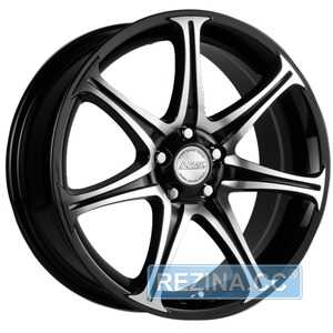 Купить RW (RACING WHEELS) H-134 BK-F/P R14 W6 PCD4x100 ET35 DIA67.1