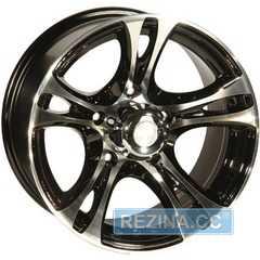 Купить ZW 269 (BP - Черный внутри полированый) R15 W8 PCD5x139.7 ET5 DIA110.5