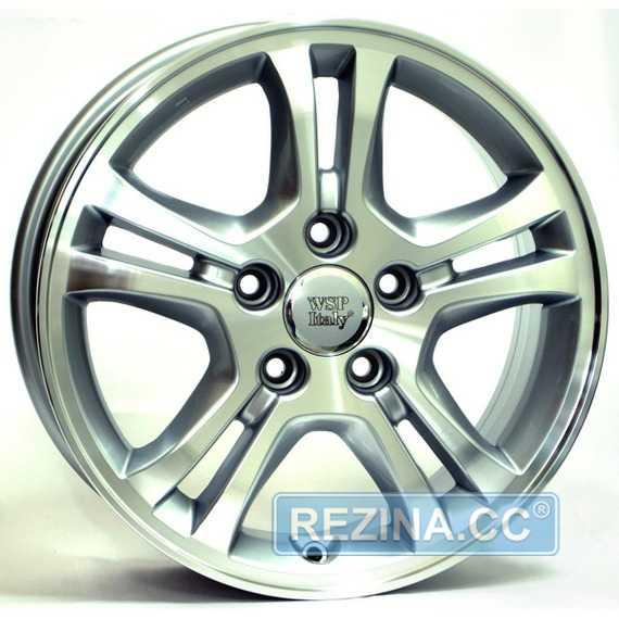 WSP ITALY SALERNO W2403 (SIL. POL. - Серебро с полировкой) - rezina.cc