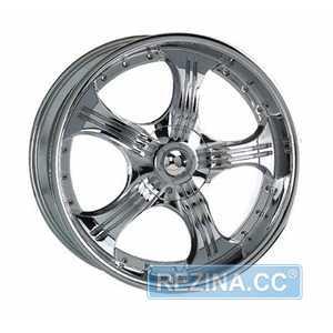 Купить KOSEI WK 155 CHROME R17 W7 PCD10x100/112 ET35 DIA73.1