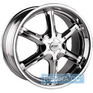 Купить FUJIBOND F-320 Chrome R20 W8.5 PCD6x139.7 ET13 DIA108.3