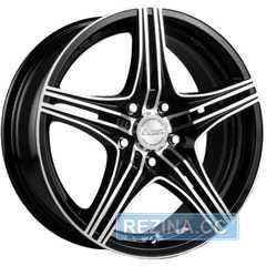 Купить RW (RACING WHEELS) H-464 BK-F/P R14 W6 PCD4x98 ET38 DIA58.6