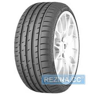 Купить Летняя шина CONTINENTAL ContiSportContact 3 255/35R19 96Y