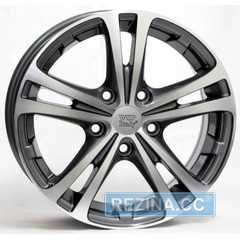 Купить WSP ITALY DANUBIO SK02 W3502(ANTHRACITE POLISHED) R15 W6 PCD5x112 ET47 DIA57.1
