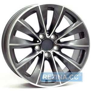 Купить WSP ITALY Ricigliano W668 DARK POLISHED R18 W8 PCD5x120 ET20 DIA74.1