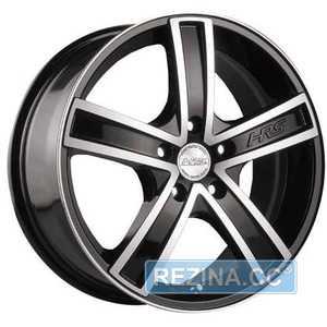 Купить RW (RACING WHEELS) H-412 BK/FP R14 W6 PCD4x114.3 ET38 DIA67.1