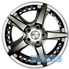 Купить СКАД DIAMOND гальвано R16 W6.5 PCD5x100 ET38 DIA57.1