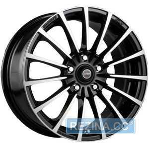 Купить RW (RACING WHEELS) H-429 BK/FP R15 W6.5 PCD4x114.3 ET40 DIA67.1