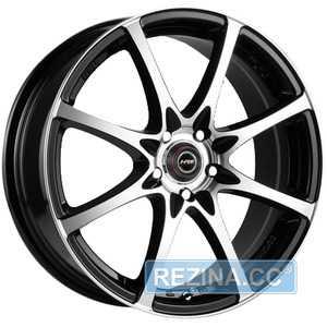 Купить RW (RACING WHEELS) H-480 BK-F/P R14 W6 PCD4x98 ET38 DIA58.6