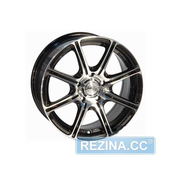 Купить LEAGUE LG 268 FMBK R15 W6.5 PCD4x98/114.3 ET40 DIA73.1