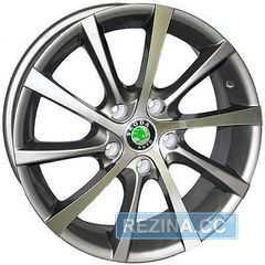 Купить REPLICA Skoda 1263 GM4 R15 W6 PCD5x112 ET42 DIA57.1