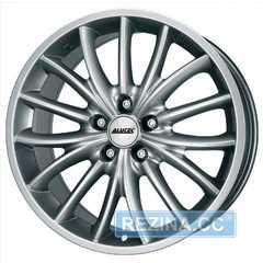 Купить ALUTEC TOXIC Silver R17 W8 PCD5x105 ET35 DIA56.6