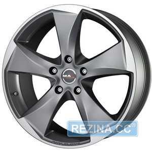 Купить MAK RAPTOR 5 Graphite Mirror Face R19 W8.5 PCD5x120 ET50 DIA65.1