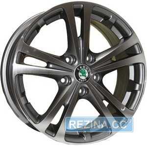 Купить TRW Z616 DGMF R16 W6.5 PCD5x112 ET42 DIA57.1