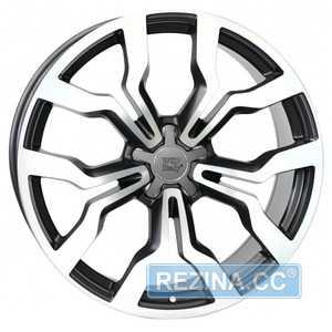 Купить WSP ITALY MEDEA AU65 W565 DULL BLACK POLISHED R19 W8.5 PCD5x112 ET42 DIA57.1