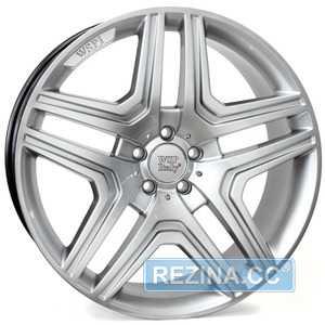 Купить WSP ITALY AMG NERO ME66 W766 HYPER SILVER R19 W8.5 PCD5x112 ET60 DIA66.6