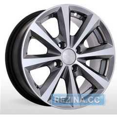 Купить STORM BK 098 GM R14 W6 PCD4x100 ET35 DIA67.1
