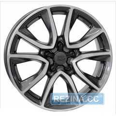 Купить WSP ITALY Gerda W2411 Anthracite Polished R17 W6.5 PCD5x114.3 ET45 DIA64.1