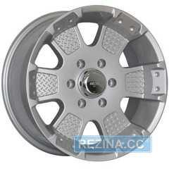 Купить MI-TECH MK-41 Silver R17 W8 PCD6x139.7 ET12 DIA106.2