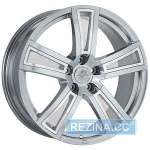 Купить FONDMETAL TECH6 Shiny Silver R17 W7.5 PCD5x112 ET48 DIA57.1