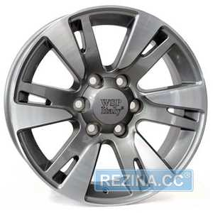 Купить WSP ITALY VENERE TO65 W1765 HYPER SILVER R20 W9.5 PCD6x139.7 ET20 DIA106.1