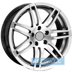 Купить WSP ITALY RS 4 NAPLES AU39 W539 Hyper Silver R17 W7.5 PCD5x112 ET35 DIA57.1
