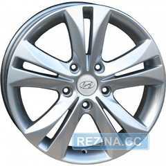Купить REPLICA Hyundai AR 028 Silver R17 W7 PCD5x114.3 ET45 DIA67.1