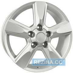 Купить Replica Toyota A 565 Silver R17 W8 PCD5x150 ET0 DIA110.5