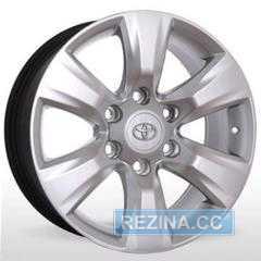 Купить Replica Toyota A 282 Silver R17 W7.5 PCD6x139.7 ET30 DIA106.1