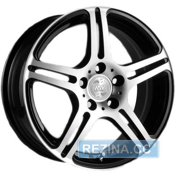 RW (RACING WHEELS) H-568 BK F/P - rezina.cc