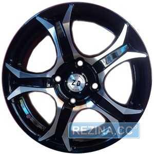 Купить ZD WHEELS 830 BMF R14 W6 PCD4x100 ET35 DIA63.4