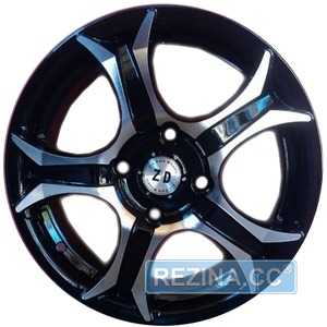 Купить ZD WHEELS 830 BMF R15 W6.5 PCD4x114.3 ET35 DIA72.6