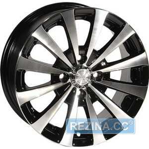 Купить ZW 247 (BP - Черный внутри полированый) R14 W6 PCD4x100 ET35 DIA67.1