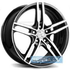 Купить RW (RACING WHEELS) H 534 BKFP R15 W6.5 PCD5x112 ET40 DIA57.1