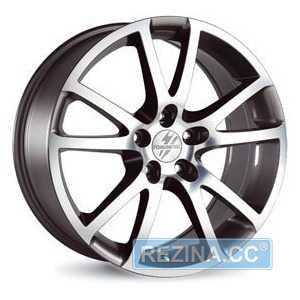 Купить FONDMETAL 7400 Titanium Polished R18 W8 PCD5x112 ET48 DIA57.1