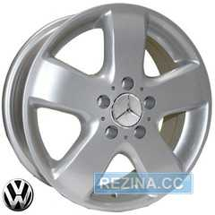 Купить REPLICA Volkswagen Z343 S R16 W6.5 PCD5x120 ET45 DIA65.1