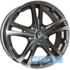 Купить REPLICA SKODA Z616 DGMF R16 W6.5 PCD5x112 ET42 DIA57.1