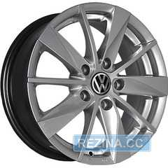 Купить REPLICA Volkswagen 7465 HS R15 W6 PCD5x100 ET40 DIA57.1
