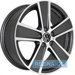 Купить REPLICA Volkswagen 7389 MK-P R16 W6.5 PCD5x100 ET45 DIA57.1