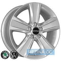 Купить ZY REPLICA Skoda 5125 S R15 W6 PCD5x112 ET38 DIA57.1