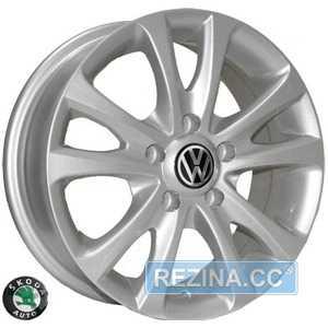 Купить REPLICA Skoda Z180 S R15 W6 PCD5x100 ET35 DIA57.1