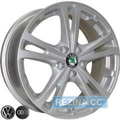Купить REPLICA Skoda Z616 S R15 W6 PCD5x100 ET43 DIA57.1