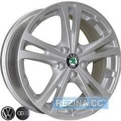 Купить REPLICA Skoda Z616 S R16 W6.5 PCD5x100 ET42 DIA57.1