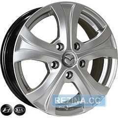 Купить REPLICA Mazda 7447 HS R15 W6 PCD5x114.3 ET49 DIA67.1